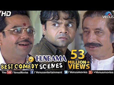 Best Comedy Scenes | Paresh Rawal, Rajpal, Shakti Kapoor | Bollywood Comedy Movies | Hungama Scenes:  Comedy Hub - Back To Back Comedy Senses : http://bit.ly/2nt2F5TEnjoy Highly Viewed Bollywood HD Movies : http://bit.ly/2nK1C40For Best Bollywood Thriller Movies : http://bit.ly/2oJsqiBFor Superhit Bollywood 90's Movies : http://bit.ly/2nGEJwZEvergreen Bollywood Classic Scenes : http://bit.ly/2orINktMovie : HungamaDirector : PriyadarshanProducer : Ganesh Jain Ratan Jain & Pooja GalaniWriter : PriyadarshanStarcast : Akshaye Khanna, Aftab Shivdasani, Rimi Sen, Paresh Rawal, Rajpal Yadav, Shoma Anand, Shakti Kapoor & OthersFor More Updates, Subscribe to;For Blockbuster Movieshttp://www.youtube.com/user/VenusMoviesFor Hit & Latest Music:http://www.youtube.com/user/venus For Movies & Music in Regional Languages: http://www.youtube.com/user/venusregional For Heavenly & Peaceful Devotional Music: http://www.youtube.com/user/venusdevotionalAlso You Can:'LIKE' us on Facebook: http://www.facebook.com/venusentertainment 'FOLLOW' us on Twitter: http://twitter.com/venusmovies 'CIRCLE' us on Google+:http://plus.google.com/+VenusMovies