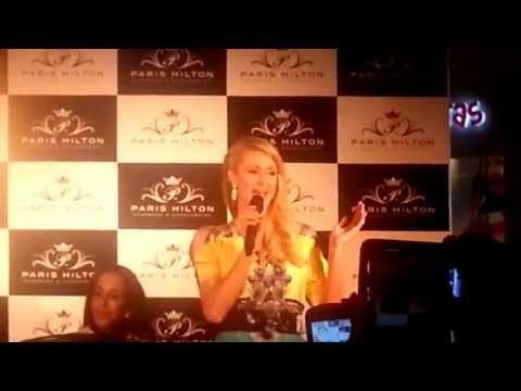 Paris Hilton in Colombia (Unicentro Bogotá)