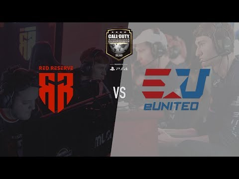 eUnited vs Red Reserve | CWL Champs 2018 | Day 3 (видео)