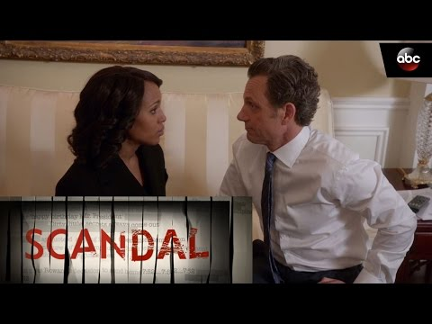 Mellie Becomes President; Olivia and Fitz Come Together - Scandal 6x11