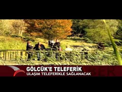 GÖLCÜK'E TELEFERİK