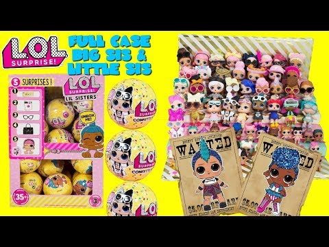 LOL Surprise Series 3 Wave 2 The Hunt for Punk Boi & Independent Queen + Little Sisters Full Case
