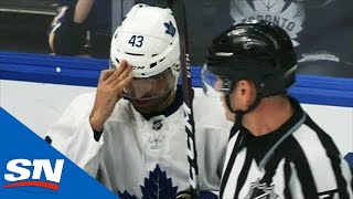 Nazem Kadri Concussed After Taking Big Hits Against Blues by Sportsnet Canada