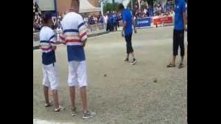 Colomiers France  City pictures : CHAMPIONNAT DE FRANCE PETANQUE 2014 REPORTAGE VIDEO COLOMIERS MRCOLOMIERS