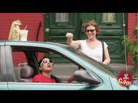 Milkshake in Sunroof Prank