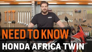 9. Need To Know - Honda Africa Twin DCT