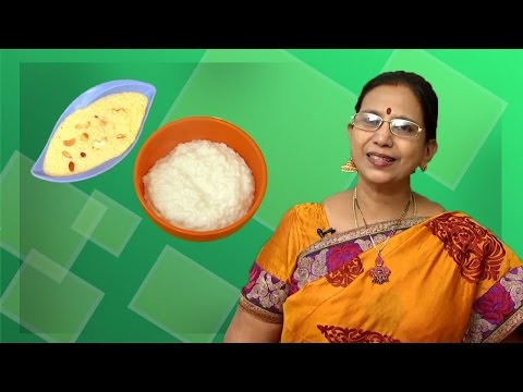 Milk Pongal - Sweet and Salt | Mallika Badrinath | South Indian Recipes