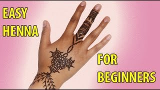 How to Apply Henna for Beginners - YouTube