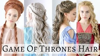 Happy Halloween! Here's a hair tutorial on 4 iconic game of thrones hairstyles for all you hairaholics! No surprise, I love the hair...