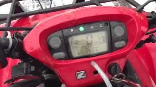 8. Honda rincon 650 2005