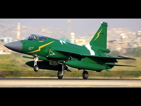 Pakistani made, JF-17 Thunder Fighter...