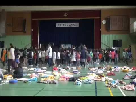 20141120茨木市立玉櫛小学校低学年向けライブ勇気100%
