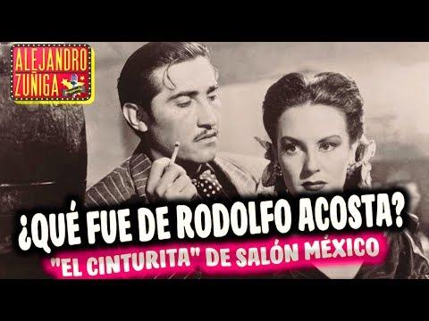 ¿QUE FUE DE RODOLFO ACOSTA? El gran villano del cine mexicano