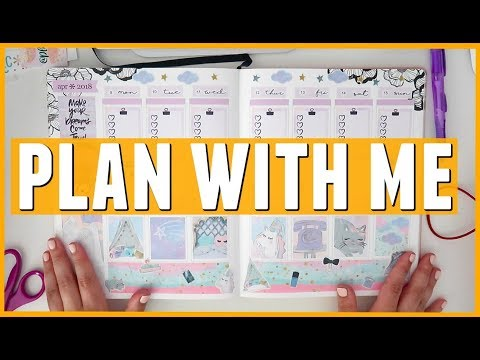 April 2018 Erin Condren Plan With Me (EC Sticker Sheets + Plan With Belinda Sticker Kit) - Thời lượng: 10:32.