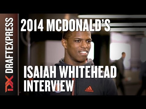 Isaiah Whitehead - 2014 McDonald's All American Game - Interview
