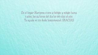 Hogar mariposa institucional
