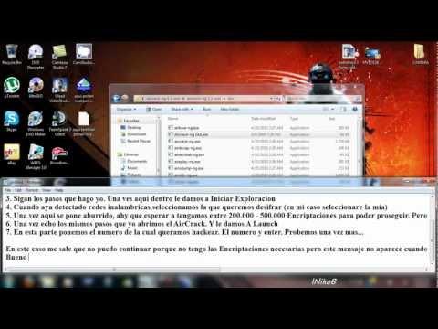 Desifrar cualquier red wifi con Windows 7