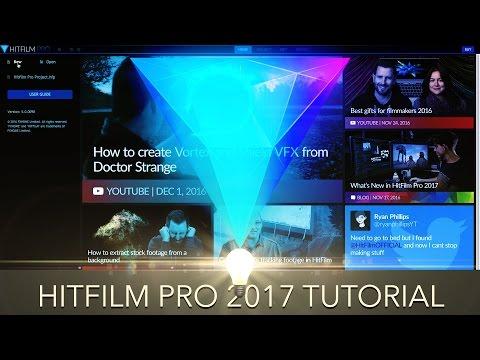 Hitfilm Pro 2017 Tutorial - The Basics