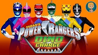 POWER RANGERS Dino CHARGE Unleash The POWER 7 Nickelodeon GERTIT