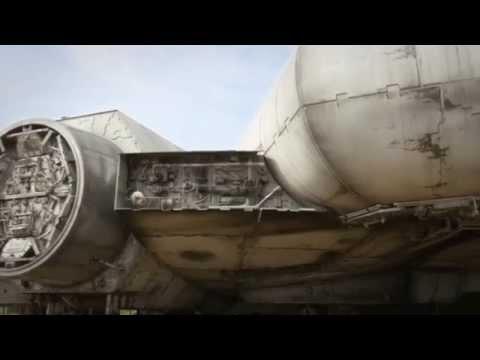 MOVIES: Star Wars : Episode VII - Set Video of the Millennium Falcon
