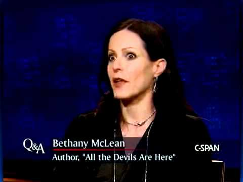 Bethany McLean on C-SPAN's Q&A