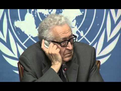 Lakhdar Brahimi, Press Conference (Geneva, 24 January 2014)