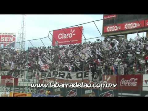 """LBO """"..El que no salta es del ciclon.."""" VS  Tacuary - Clausura 2009 - La Barra del Olimpia - Olimpia"""