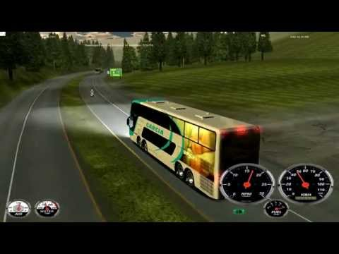 18 WOS HAULIN bus trip with Busscar Panoramico DD 8x2 part1