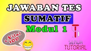 Download Video Jawaban Tes Sumatif Modul 1 | Salah 1 Soal MP3 3GP MP4