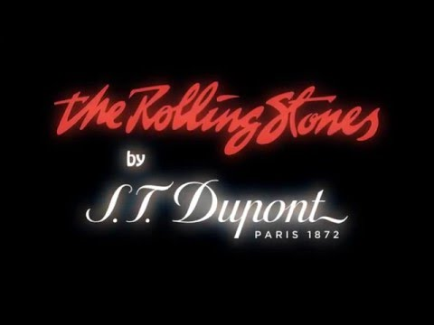 S T  Dupont Rolling Stones