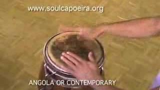 Download Lagu CAPOEIRA DRUM RHYTHMS- Contemporary and Angola Mp3
