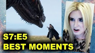 Game of Thrones Season 7 Episode 5 review today! Breakdown of Eastwatch, HBO in 2017! Jon Snow pets a dragon! Suicide ...
