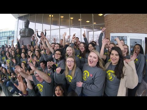 Video thumbnail: Boonshoft School of Medicine students learn where they will pursue residency training during nationwide Match Day event