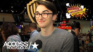 """At the Warner Bros. booth on the Comic-Con floor, """"Game of Thrones"""" star Isaac Hempstead Wright tells Access Hollywood about the show's surprise Hall H moderator -- Kristian Nairn, aka Hodor.» SUBSCRIBE: http://bit.ly/AHSub» Visit Our Website: http://www.AccessHollywood.com/Get More Access Hollywood:Facebook: https://www.facebook.com/AccessHollywoodTwitter: https://twitter.com/accesshollywoodInstagram: http://instagram.com/accesshollywoodSnapchat: OfficialAccessAbout Access Hollywood:""""Access Hollywood"""" is a nationally syndicated daily entertainment news show. """"Access Hollywood"""" delivers the most comprehensive coverage of entertainment news and personalities on television, featuring in-depth celebrity interviews and behind-the-sc enes accounts of the most important events in Hollywood.'Game Of Thrones' At Comic-Con: Isaac Hempstead Wright On Their Surprise Hall H Moderator  Access Hollywoodhttps://youtu.be/3CI5Rpe-51MAccess Hollywoodhttps://www.youtube.com/user/AccessHollywood"""