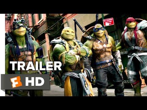 Teenage Mutant Ninja Turtles: Out of the Shadows Official Trailer #1 (2016) - Megan Fox Movie HD