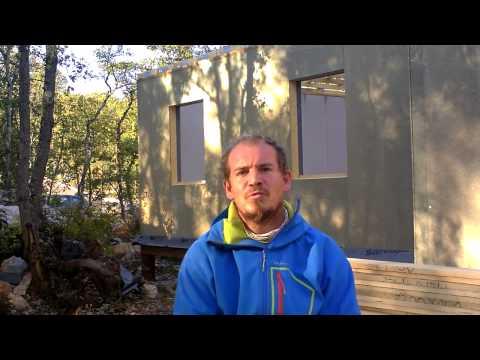 Concept Bois avec Guillaume Perrot, témoignage maison montée avec les panneaux murs BEOMUR