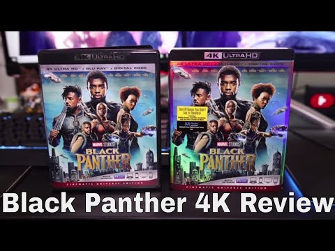 Black Panther 4K Blu-Ray Review