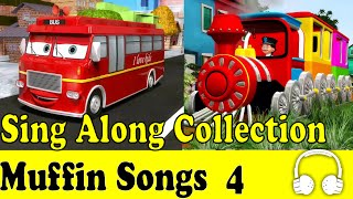 Wheels on the Bus & Muffin Songs Sing Along Collection 4 - Children Nursery Rhymes