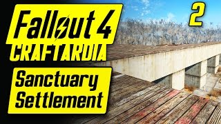 Fallout 4 Sanctuary Settlement #2 - Base Building Timelapse - Fallout 4 Settlement Building [PC]