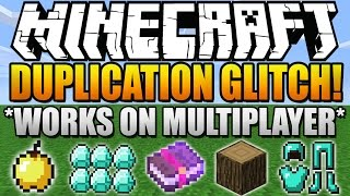 ★ How To Duplicate Items in Minecraft 1.8.1 *Works on Multiplayer Servers* (Duplication Glitch 1.8)