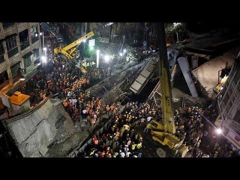 Ινδία: Μεγάλος αριθμός αγνοουμένων μετά την κατάρρευση αερογέφυρας