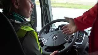 """""""AutoMedia Latvia"""" reportāža: Ielūkojamies """"Volvo Group Trucks"""" servisa centrā un izbraucam ar jauno """"Renault T"""""""