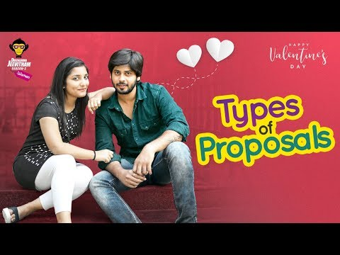 Types of Proposals || Valentine's Day Special || DJ Women