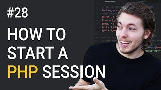 28: How to Start a Session in PHP   PHP Tutorial   Learn PHP Programming   PHP for Beginners