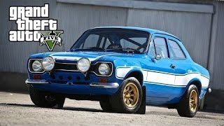 Nonton GTA 5 - Fast and Furious 6 Car Build: Brian's Ford Escort Film Subtitle Indonesia Streaming Movie Download