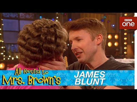 James Blunt and Mammy's kiss - All Round to Mrs Brown's: Episode 1 - BBC One