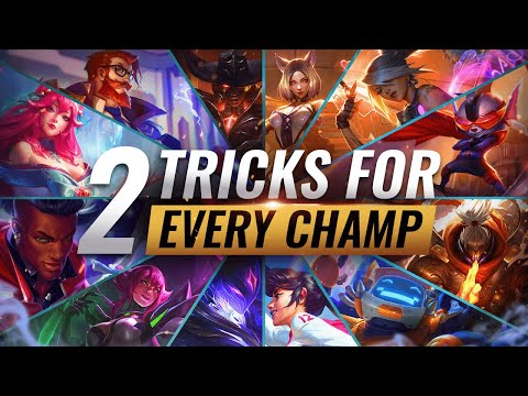 2 INSANE TRICKS FOR EVERY CHAMPION in League of Legends - Season 10