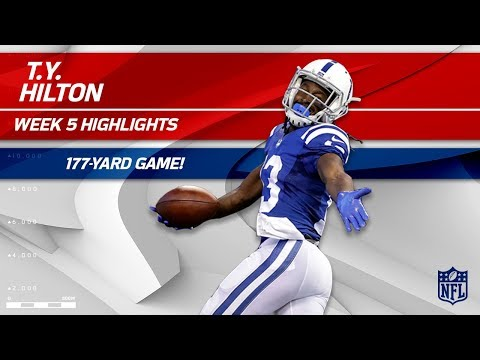 Video: T.Y. Hilton's 7 Catches & 177 Yards vs. San Francisco | 49ers vs. Colts | Wk 5 Player Highlights