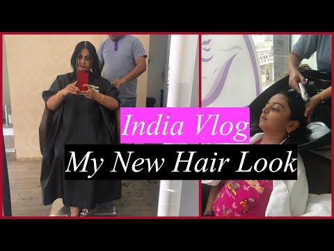 New hairstyle - India vlog (Part 4) : My New Hair Look  Exploring  Food In Bangalore  Simple Living Wise Thinking