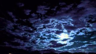 Full Moon Time Lapse in Kitty Hawk